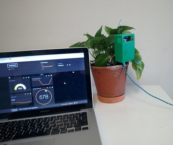 House Plant Monitoring System