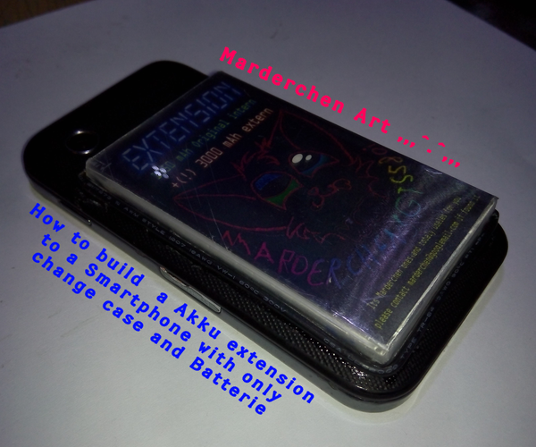 How to Add a Aditional Battery to a Smartphone (for Using It Days)