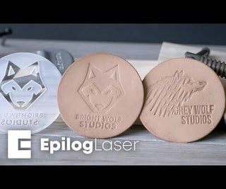 Laser Engraving Leather Debossing Stamps With MDF and Acrylic