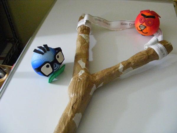 Giant Pocket Slingshot - Angry NachoMahma Game