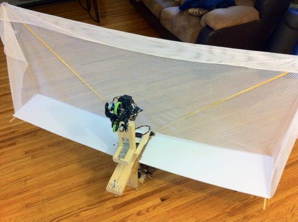Homemade Table Tennis Robot for ~$230