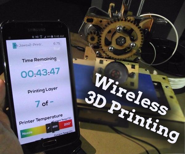 How to Control a 3D Printer With a Phone Via DIY AstroBox