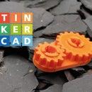 Tinkercad齿轮