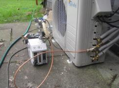 Purging the Refrigerant Lines