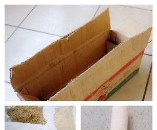 Transforming an Old Cardboard Box Into an Odor-absorbing Shoebox