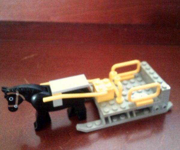 LEGO Horse and Sled
