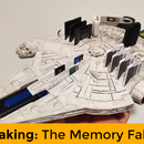 How to Make the  Millennium Falcon Into the Memory Falcon and Bring Out 3D Print Detail