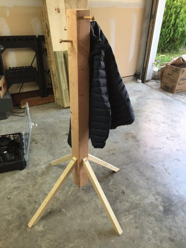 Very Easy Coat Rack