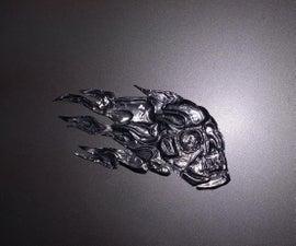 Embossed Skull
