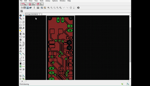 Designing of the PCB Layout
