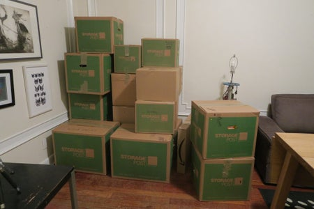 1 Month Before Move:  Start Packing
