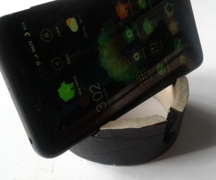 PAPER TAPE TO PHONE STAND