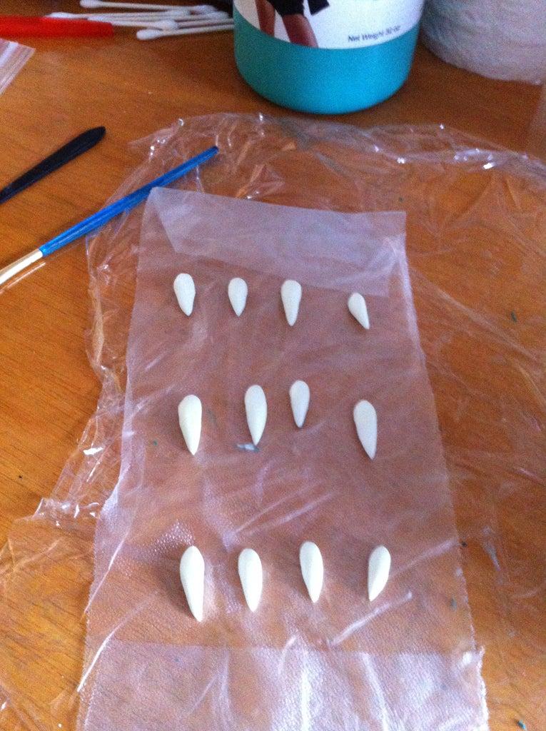 Preparing a Facial Prosthetic for Killer Croc