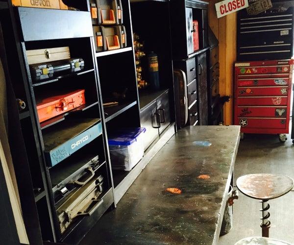 Make Workshop Shelving for Free