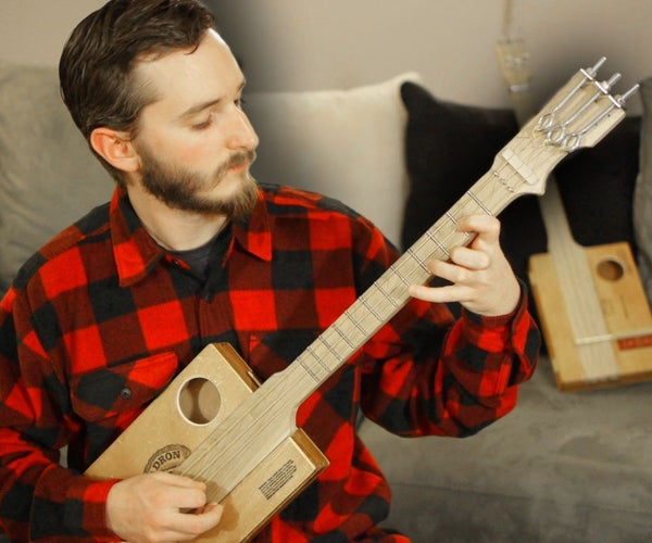 Hardware Store Fretted Cigar Box Guitar