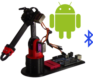 Control Arduino Robot Arm With Android App