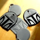 "DIY NFC Tag Cover ""The Mandalorian""-Helmet"