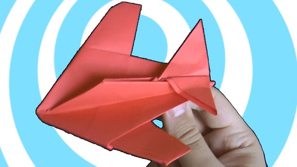 Origami Stealth Fighter