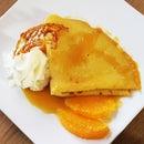 Crêpes Suzette - French Orange Crepes Dessert
