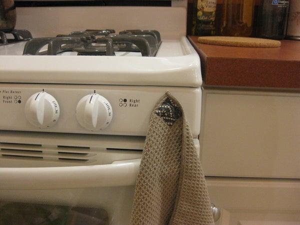 Magnetowel (magnetized Kitchen Towel)