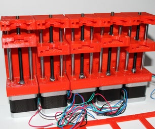 3D Printed Syringe Pump Rack