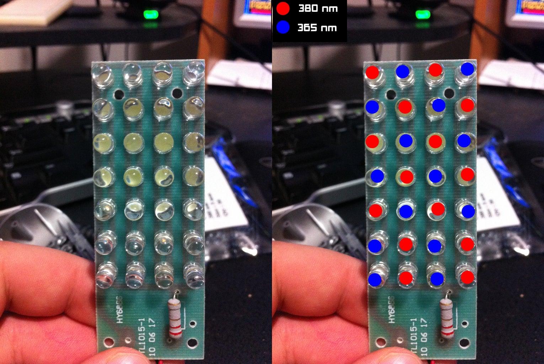 Deciding the LED Arangement
