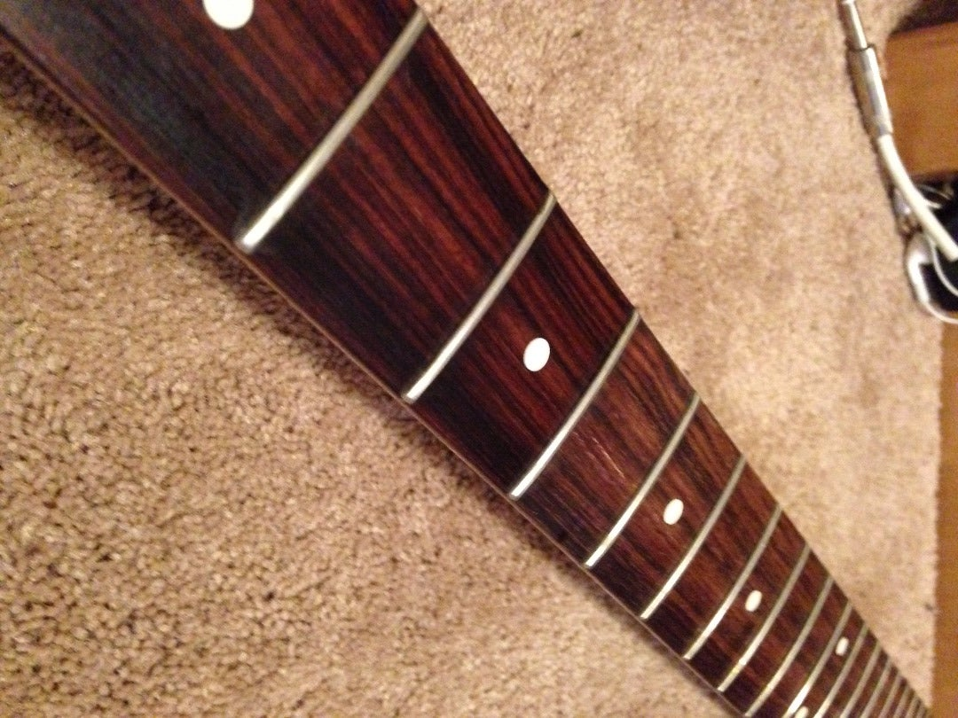 Cleaning the Fretboard