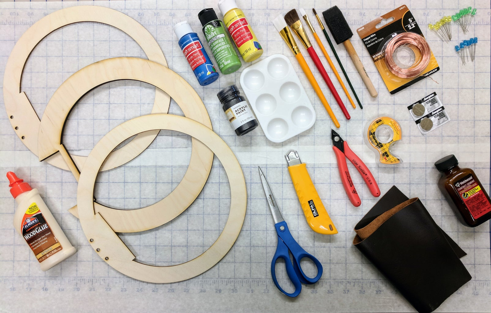 Extra Credit   Assemble Ring Blade Parts and Tools