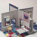 Paper Popup Room