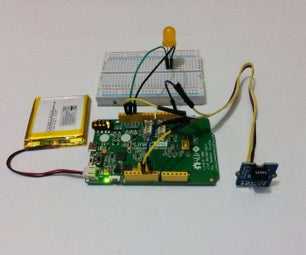 LinkIt One - IR Distance Interrupter