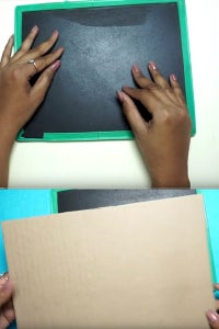 Let's Take Slate Chalkboard & Cardboard!
