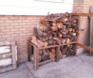 Woodpile Fence Post