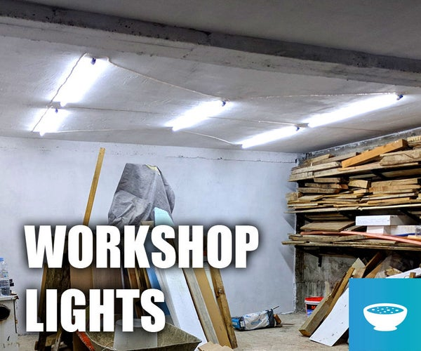 Install LED Lights in Workshop