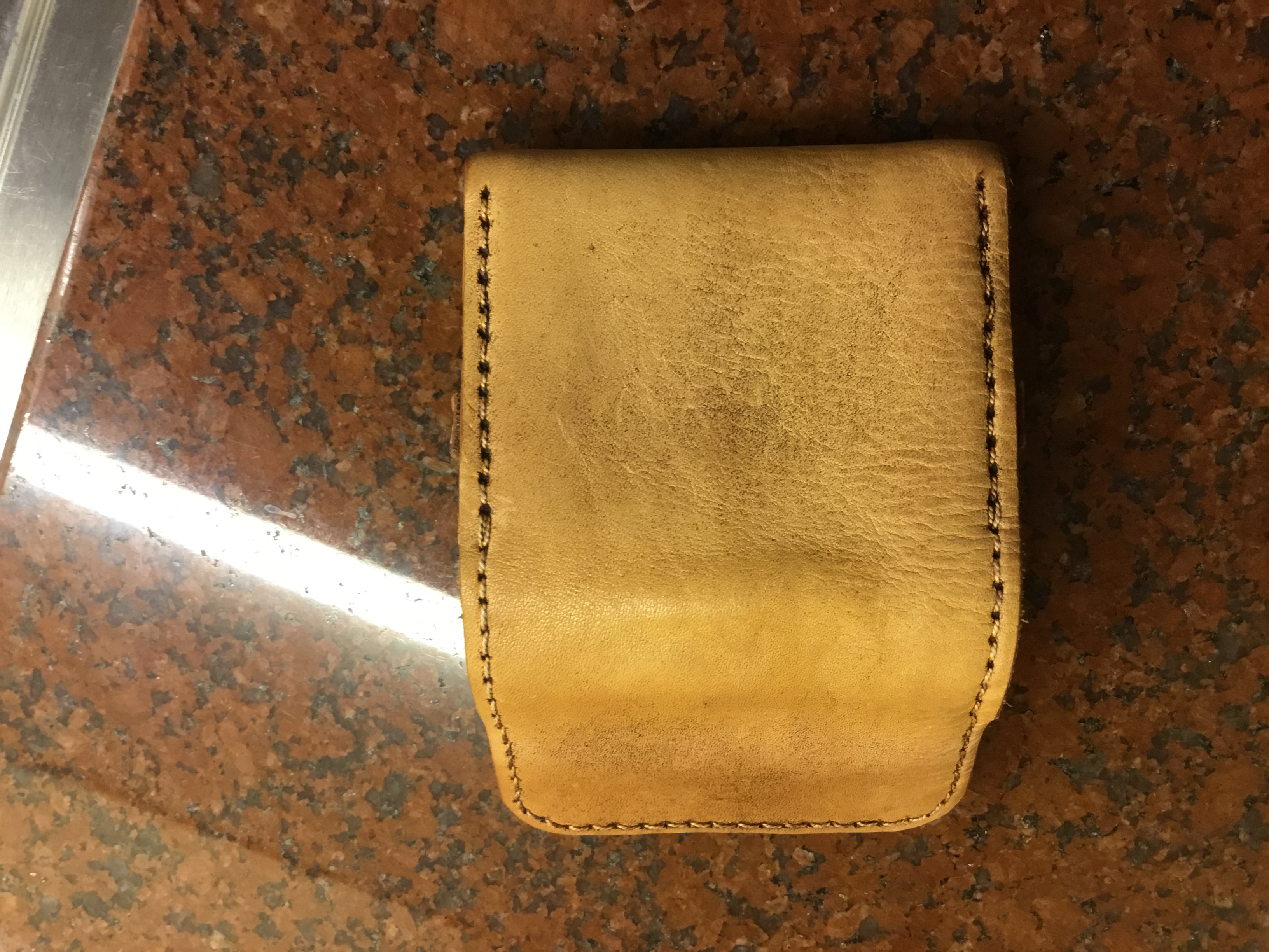 Simple Leather Card Wallet