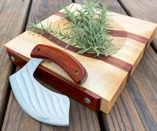 How to Make a Ulu Knife From a Old Saw Blade Plus a Bonus Cutting Board