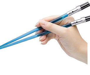 3d Printed Lightsaber Chopsticks