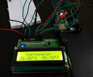 Arduino Thermometer Using LM35 Temperature Sensor