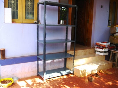 Shift Racks Inside and Store Things