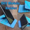 DIY Mobile Stand in Shades of Blue