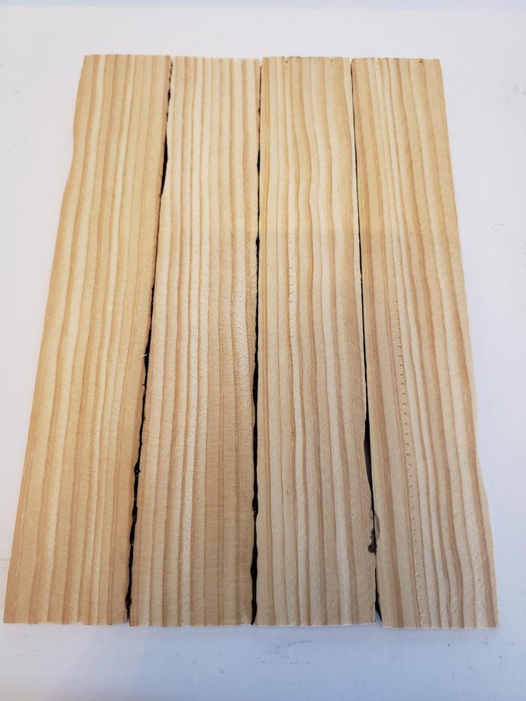 Glue Wood Shims Together