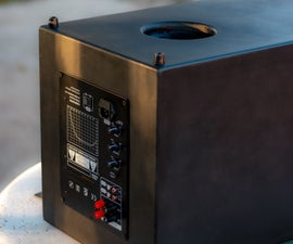DIY Down Firing Port Active Subwoofer