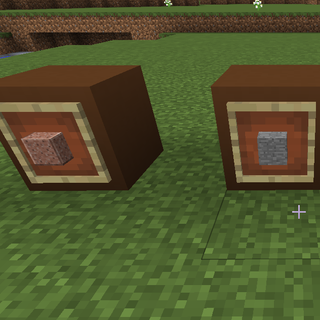 Created item frames with content.png