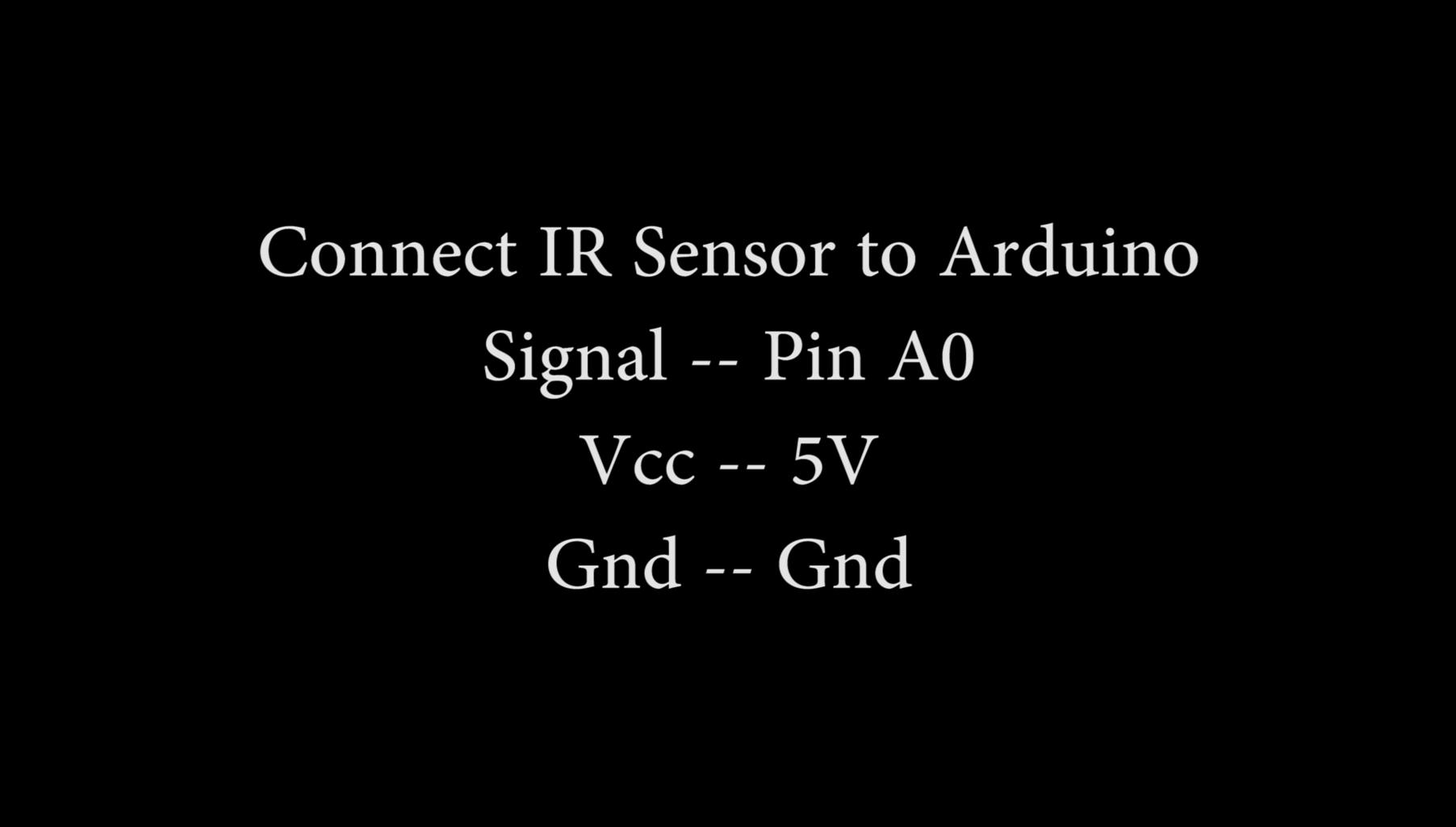 Connect the Proximity Sensor to Arduino
