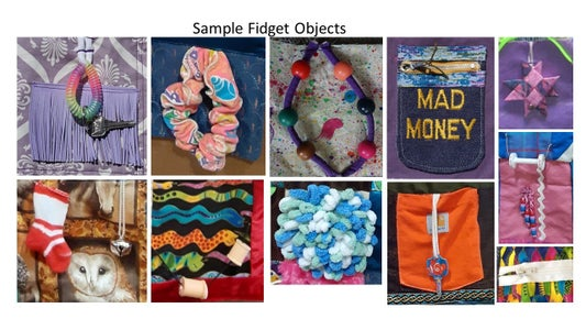 Select Your Fidget Objects