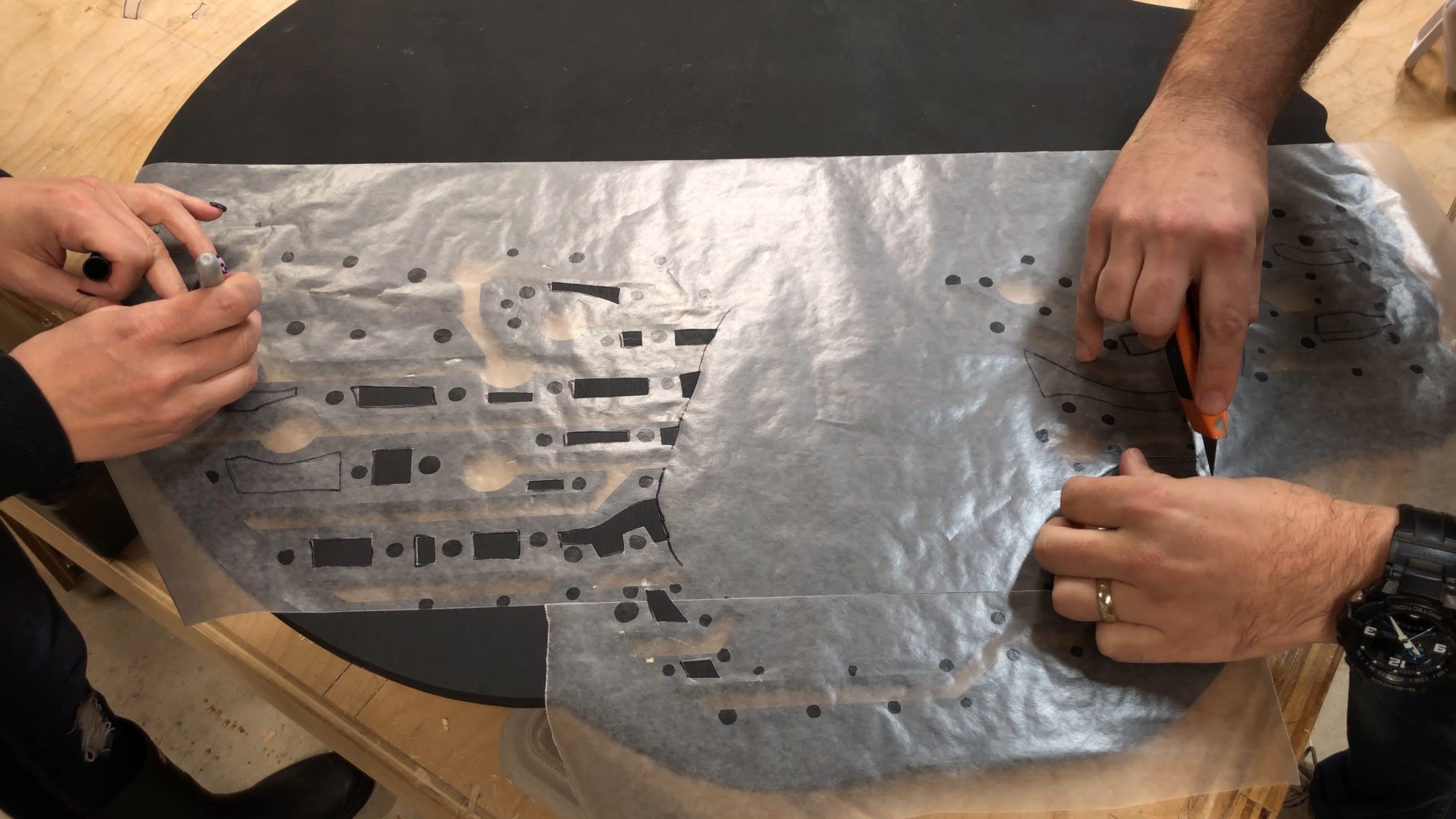 """The """"Middle Layer"""": Waxed Paper Diffusion!"""