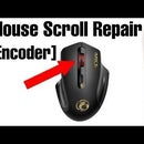 How To Fix The Mouse Scroll Wheel || DIY Mouse Encoder Repair [Disassembly]
