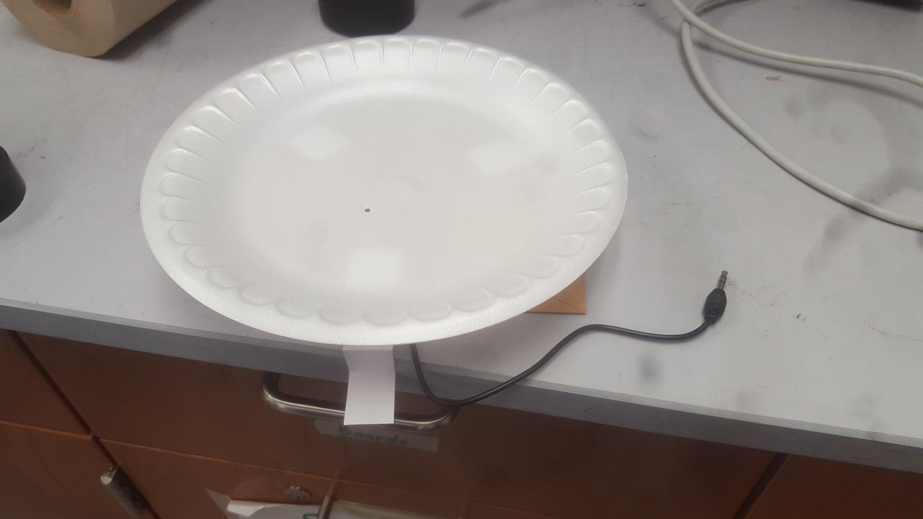 Attach Speaker Coil to Cone