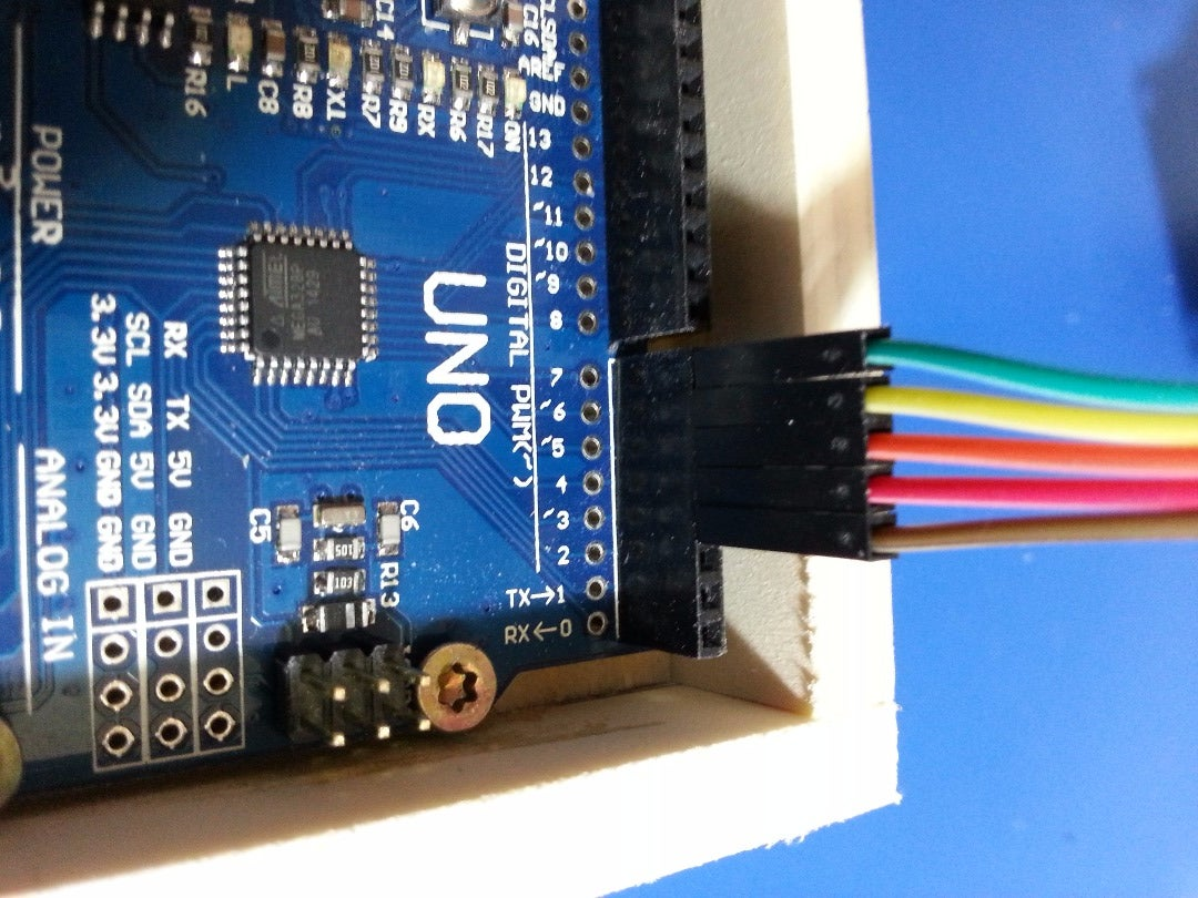 Connecting the LCD to Arduino