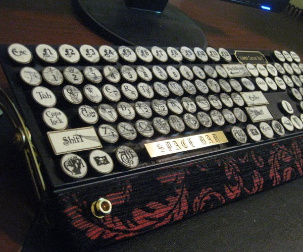 The Airship Captain MK-I(yet Another Steampunk Keyboard)