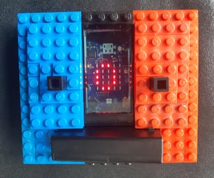 Lego Portable Gaming Console With Space Invaders